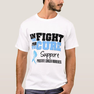 Prostate Cancer In The Fight For The Cure T-Shirt