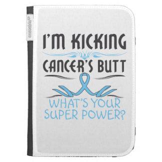 Prostate Cancer Kicking Cancer Butt Super Power Kindle 3G Cases