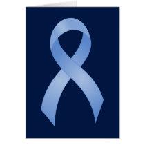 Prostate Cancer Light Blue Ribbon