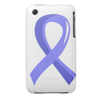 Prostate Cancer Light Blue Ribbon 3 iPhone 3 Cover