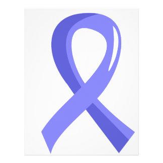 Prostate Cancer Light Blue Ribbon 3 Full Color Flyer