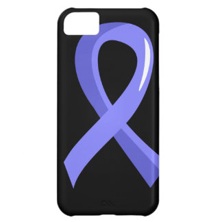 Prostate Cancer Light Blue Ribbon 3 iPhone 5C Cover