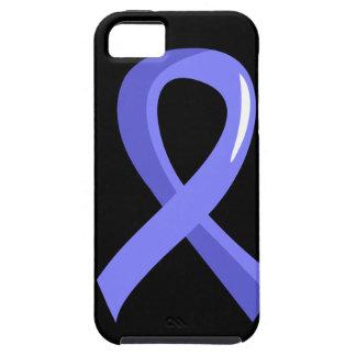 Prostate Cancer Light Blue Ribbon 3 iPhone SE/5/5s Case
