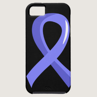 Prostate Cancer Light Blue Ribbon 3 iPhone SE/5/5s Case