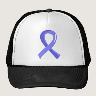 Prostate Cancer Light Blue Ribbon 3 Trucker Hat