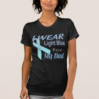 Prostate Cancer Light Blue Ribbon Awareness Logo Shirts