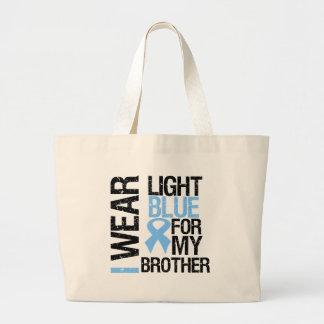 Prostate Cancer Light Blue Ribbon Brother Bag