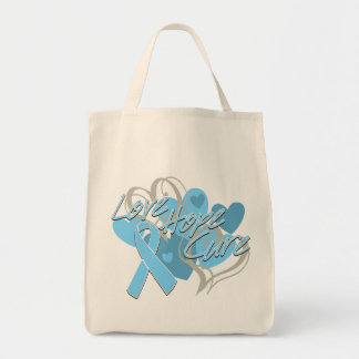 Prostate Cancer Love Hope Cure Tote Bag