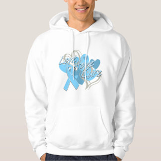 Prostate Cancer Love Hope Cure Hoodie