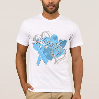 Prostate Cancer Love Hope Cure T-Shirt