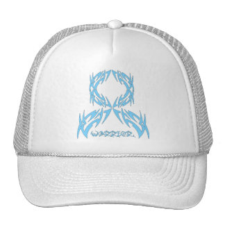 Prostate Cancer  Mens Warrior Tribal Trucker Hat