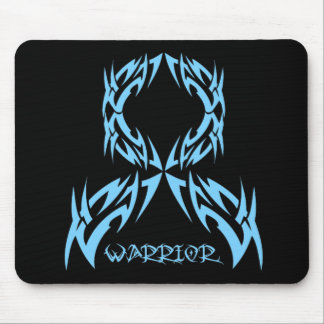 Prostate Cancer  Mens Warrior Tribal Mouse Pad