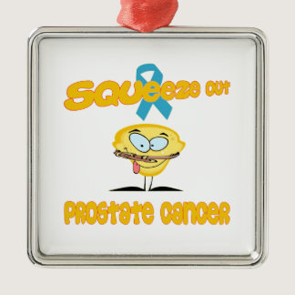 Prostate Cancer Metal Ornament