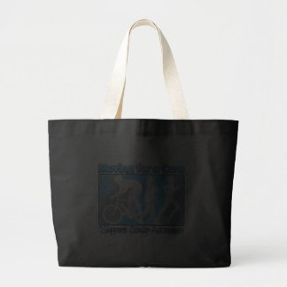 Prostate Cancer Moving For A Cure Tote Bag