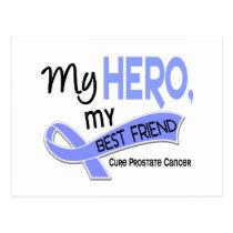 Prostate Cancer MY HERO, MY BEST FRIEND 42 Postcard