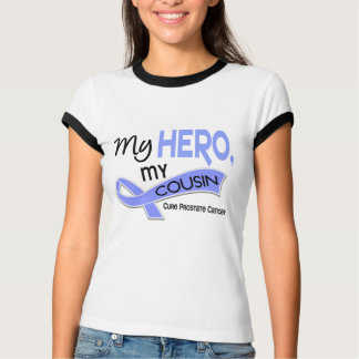 Prostate Cancer MY HERO, MY COUSIN 42 T-Shirt