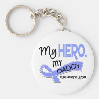 Prostate Cancer MY HERO, MY DADDY 42 Keychain
