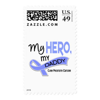 Prostate Cancer MY HERO, MY DADDY 42 Postage Stamps