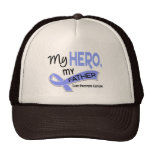 Prostate Cancer MY HERO, MY FATHER 42 Trucker Hats