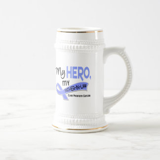 Prostate Cancer MY HERO, MY FATHER-IN-LAW 42 Beer Stein