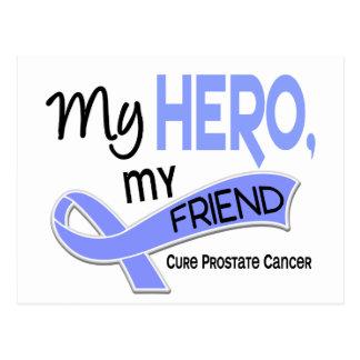 Prostate Cancer MY HERO MY FRIEND 42 Postcard