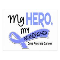 Prostate Cancer MY HERO, MY GRANDFATHER 42 Postcard