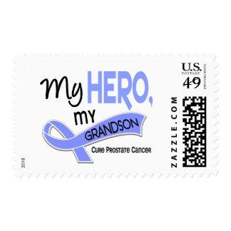 Prostate Cancer MY HERO, MY GRANDSON 42 Postage Stamp