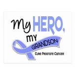 Prostate Cancer MY HERO, MY GRANDSON 42 Postcards
