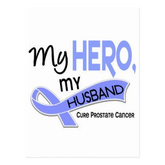 Prostate Cancer MY HERO, MY HUSBAND 42 Postcard