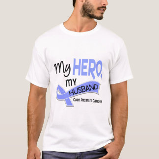 Prostate Cancer MY HERO, MY HUSBAND 42 T-Shirt