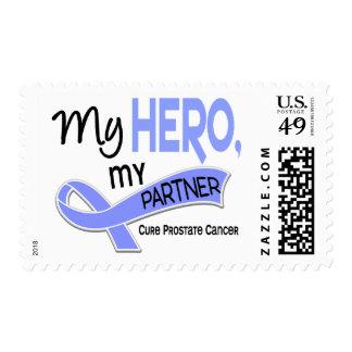 Prostate Cancer MY HERO, MY PARTNER 42 Stamp