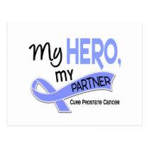 Prostate Cancer MY HERO, MY PARTNER 42 Postcard
