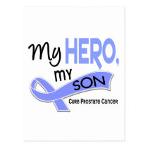 Prostate Cancer MY HERO, MY SON 42 Postcard