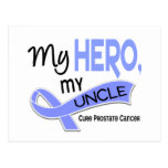 Prostate Cancer MY HERO, MY UNCLE 42 Postcards