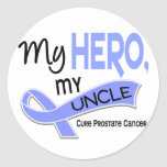 Prostate Cancer MY HERO, MY UNCLE 42 Stickers