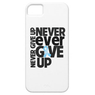 Prostate Cancer Never Ever Give Up iPhone 5 Cases