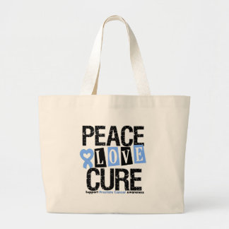 Prostate Cancer Peace Love Cure Bag