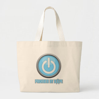 Prostate Cancer Powered by Hope Canvas Bags