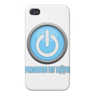 Prostate Cancer Powered by Hope iPhone 4 Cases