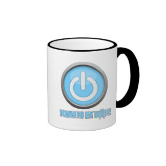 Prostate Cancer Powered by Hope Ringer Coffee Mug