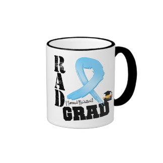 Prostate Cancer Radiation Therapy RAD Grad Ringer Coffee Mug