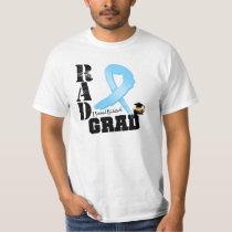 Prostate Cancer Radiation Therapy RAD Grad T-Shirt