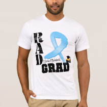 Prostate Cancer Radiation Therapy RAD Grad T-Shirt
