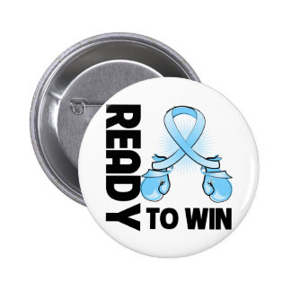 Prostate Cancer Ready To Win 2 Inch Round Button