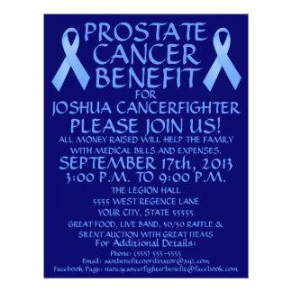 Prostate Cancer Ribbon  Benefit Flyer