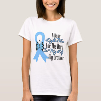 Prostate Cancer Ribbon Hero My Brother T-Shirt