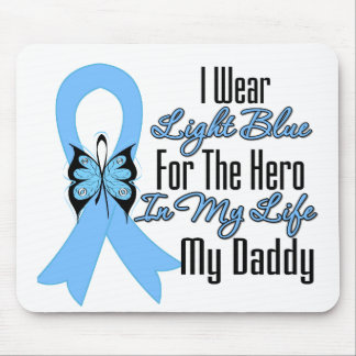 Prostate Cancer Ribbon Hero My Daddy Mouse Pad