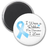 Prostate Cancer Ribbon Someone I Love Magnets