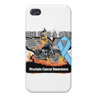 Prostate Cancer Ride For a Cure iPhone 4 Case