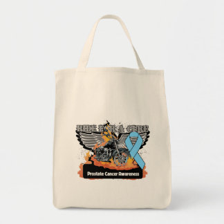 Prostate Cancer Ride For a Cure Tote Bag